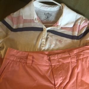 Tommy Hilfiger shirt/shirt & vineyard vines shirt